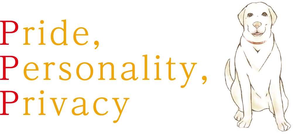 Pride,Personality,Privacy