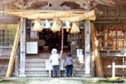 大神山神社へお参り